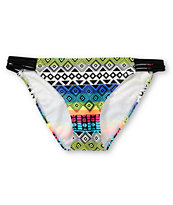 Malibu Tribal Weave Side Strap Bikini Bottom