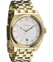 Nixon The Monopoly Champagne Gold & Silver Watch