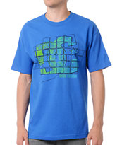 DC Shoes Tetris Blue Tee Shirt