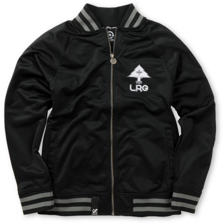 LRG Boys Core Black Track Jacket