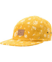 Obey Yuma Mustard 5 Panel Hat