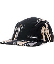 The Hundreds Milk Black 5 Panel Hat