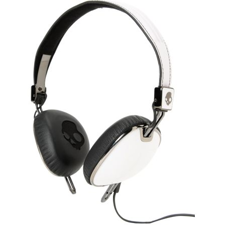 Skullcandy Navigator White Headphones