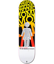 Girl Mike Mo Blast Off Pop Secret 8.0 Skateboard Deck