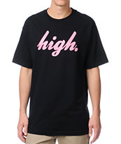 Odd Future Domo High Black & Hot Pink Tee Shirt