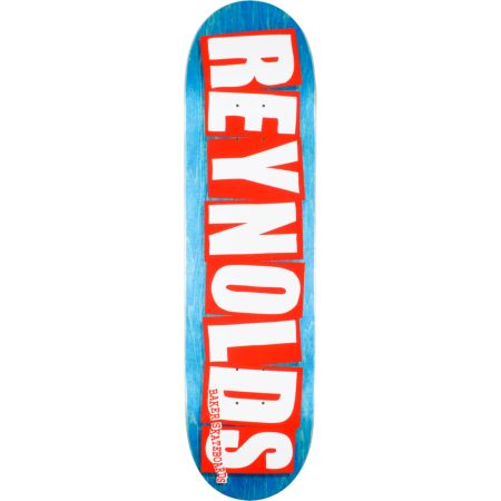 Baker Reynolds Wood Grain 8.25 Skateboard Deck