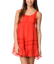 Billabong Ever So Sweet Red Dress