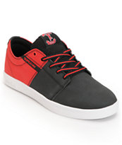 Supra TK Stacks Black & Red Raptor Tuf Shoe