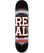 Real Ramondetta Pushing R1 8.06 Skateboard Deck