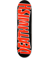 Deathwish Thrash Red 8.0 Skateboard Deck