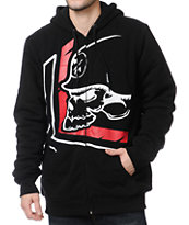 Metal Mulisha Reproach Black Sherpa Zip Up Hoodie