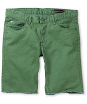 Matix Gripper Green Slim Straight Twill Shorts