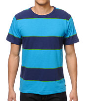 Matix Stinger Navy Stripe Tee Shirt