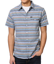 Matix Philco Charcoal Stripe Button Up Shirt