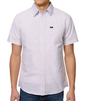 Matix Money Grid White Button Up Shirt