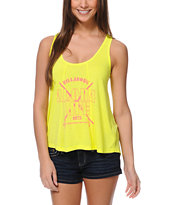 Billabong Ready Go Yellow Hi Tank Top