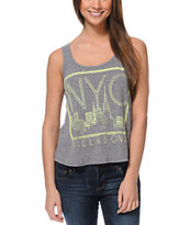 Billabong From NYC Charcoal Tank Top
