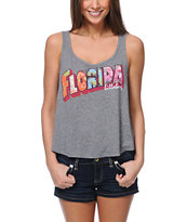 Billabong See You Later Skater Charcoal Tank Top