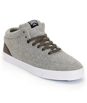 Crooks and Castles Backstab Grey Wool Shoe