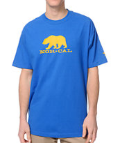 Nor Cal Black Bear Blue Tee Shirt