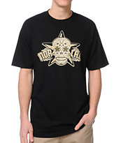 Nor Cal Calavera Black Tee Shirt
