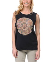 Insight Demi Black Muscle Tank Top