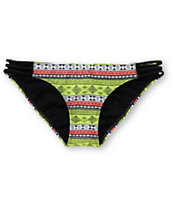 Lira Jesse Side Strap Tribal Print Bikini Bottom