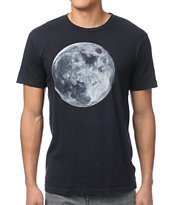 Freedom Artists Coyote Moon Black Tee Shirt