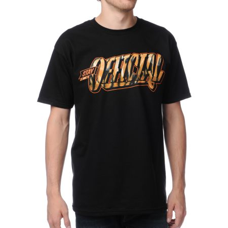 Official Crown Of Laurel Stay Official Tigerfill Black Tee Shirt