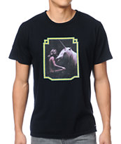 Toddland Unicorn Black Tee Shirt