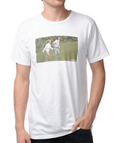 Toddland Frolicking White Tee Shirt