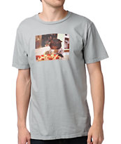 Toddland Kitty B-Day Grey Tee Shirt