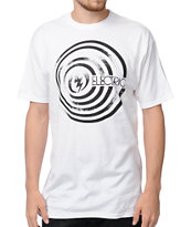 Electric Down White Tee Shirt