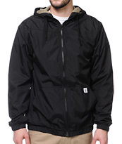 Volcom Ringer Black Windbreaker Jacket