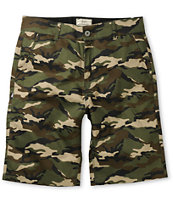 DGK Working Man Camo Regular Fit Chino Shorts