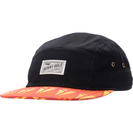 Benny Gold Origins Black 5 Panel Hat