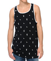 DGK Iconic Black Print Tank Top