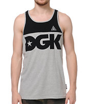 DGK City Black & Grey Tank Top