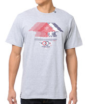 LRG 3 Tree Motion Grey Tee Shirt