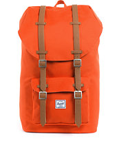 Herschel Supply Little America Mid-Volume Camper Orange Backpack