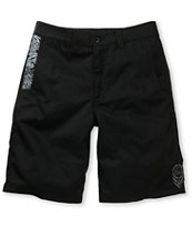 Metal Mulisha 6th Edition Black Chino Shorts