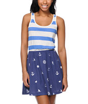 Glamour Kills Nautical Stripe Tank Dress
