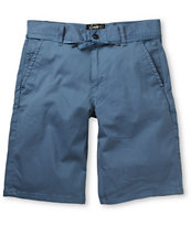 Empyre Take A Walk Blue Chino Shorts