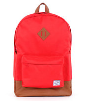 Herschel Supply Heritage Red Backpack