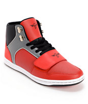 Creative Recreation Cesario Red, Black, & Smoke Shoe