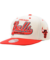 NBA Mitchell & Ness Chicago Bulls Tailsweeper Snapback Hat