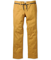 Empyre Skeletor Mustard Slim Chino Pants