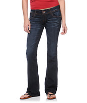 Jolt Stephanie Dark Wash Bootcut Jeans