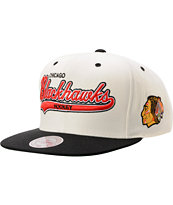 NHL Mitchell & Ness Chicago Blackhawks Tailsweeper Snapback