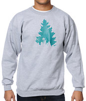 Casual Industrees J.Tree Tread Heather Grey Crew Neck Sweatshirt
